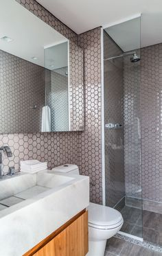 Como decorar um banheiro pequeno # ladrillos para baños pequeños # azulejos para banheiros pequenos