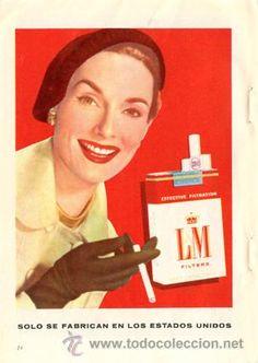 Página Publicidad Original *Cigarrillos LM*  - Vintage - Retro -- Año 1959