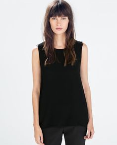 ZARA - WOMAN - TOP WITH SIDE TIES