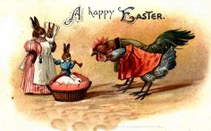 Welcoming the Easter Bunny