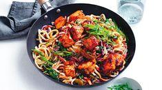 Easy Salmon Recipes, Seafood Recipes, Asian Recipes, Chicken Recipes, Noodle Recipes, Whole30 Recipes Lunch, Vegetarian Recipes, Healthy Recipes, Savoury Recipes