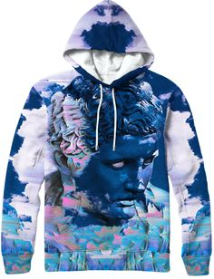 1d0b0bace Distorted Visage Hoodie Fabric Panels