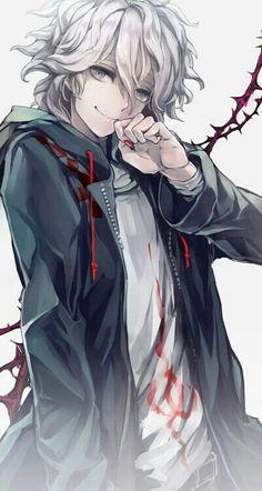 Nagito Komaeda from Danganronpa A great game! Manga Anime, Anime Guys, Hot Anime Boy, Anime People, I Love Anime, Awesome Anime, Manga Art, Anime Art, Jack The Killer