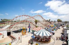 Belmont Park amusements, mission beach San Diego