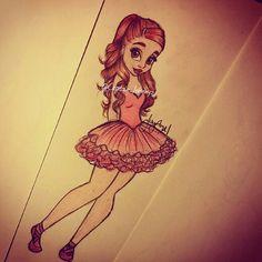 Ariana grande cartoon