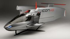Icon A5 Exterior- A dream of mine to own one day. I love to fly and I love what this plane is doing for general aviation. BTW it's amphibious.