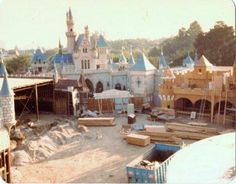 Disneyland: New Fantasyland Construction; October 1982