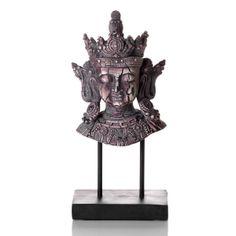 Escultura Cabeça de Buda Pedestal P - iBacana