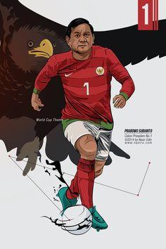 Prabowo Vs Jokowi by nasircs Naruto And Sasuke, Art Pop, Joker, Politics, 1, Culture, Graphic Design, Superhero, Humor