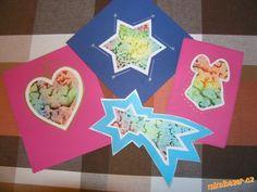 jmenovky na dárky z voskovkového papíru
