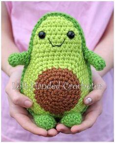 Crochet Yourself an Avocado Friend