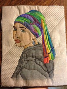 Quilting: Girl with a Pearl Earring