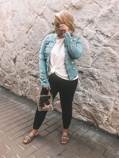 Fashion Look Featuring Ray-Ban Sunglasses and Free People Tees by kylatori - ShopStyle Curvy Girl Outfits, Curvy Girl Fashion, Look Fashion, Plus Size Fashion, Fashion Outfits, Fashion Styles, Simple Outfits, Casual Outfits, Stylish Mom Outfits