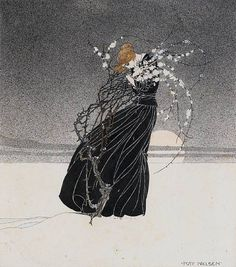 enchantingimagery: An illustration by Kay Nielsen for The Story of a Mother.