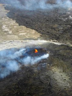 Kilauea Volcano - Compliments of Blue Hawaii Helicopters!