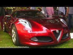 2012 Concorso d'Eleganza: Alfa Romeo 4C