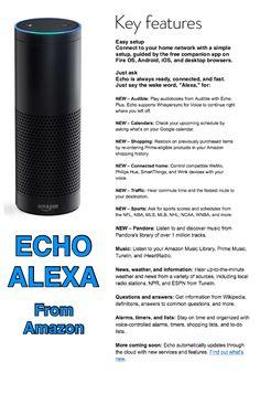 Echo Alexa                                                                                                                                                     More Amazon Echo Tips, Amazon Shows, Amazon Hacks, Alexa Dot, Alexa Echo, Gadgets And Gizmos, Gadgets Shop, Electronics Gadgets, Technology Gadgets