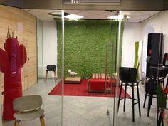 Showroom Linz www.themossdesign... www.verdeprofilo.com #verdeprofilo #MOSS #MOSStile #WallProjects