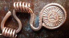 Copper 'lachet' 600 AD Irland.