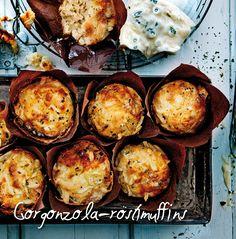 Gorgonzola-röstimuffins is een heerlijk recept van @Aviko: http://www.aviko.nl/recepten/snelle-hap-dag/recepten/gorgonzola-rostimuffins