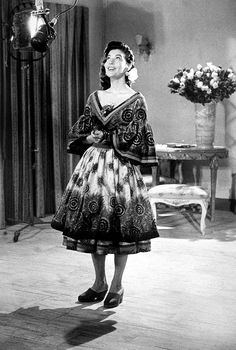"fuckyeahavagardner: ""Ava Gardner in The Barefoot Contessa (1954) """