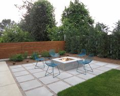 Contemporary Patio Fire Pit Design, Pictures, Remodel, Decor and Ideas - page 14