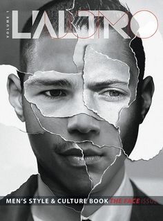 L'altro Uomo Book Volume 01 by Christian Hameister, via Behance