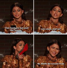 "Zendaya 26 Wholesome Female Celebrities Who Are Unproblematic ""I just took a DNA test, turns out I'm that bitch. Crazy Funny Memes, Really Funny Memes, Stupid Memes, Funny Relatable Memes, Haha Funny, Funny Jokes, Funny Stuff, 9gag Funny, Funny Minion"