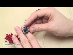 Bead Weaving with a Flat Even Count Peyote Stitch