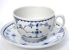 Blue and White Teacup Furnivals Limited China by SimplyChina