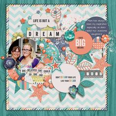 Dreams by ksbella - Using Dream a Little Dream by Studio Flergs available at Sweet Shoppe Designs
