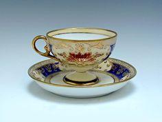 Old Noritake 1911 Antique Tea Cups, Vintage Cups, Vintage Tea, Teapots And Cups, Teacups, China Tea Sets, My Cup Of Tea, Coffee Set, Noritake