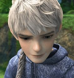 jack frost. DANGIT I hate being attracted to animated characters