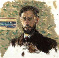 Pierre Bonnard · Autoritratto · 1889 · Ubicazione ignota