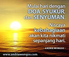Mulailah hari dengan Doa