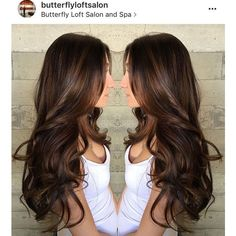 15 Delicious Chocolate Brown Hair Color Ideas 2017 | Hairstyle Guru ❤ liked on Polyvore featuring beauty products and haircare