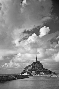 Mont Saint Michel in Normandy, France.