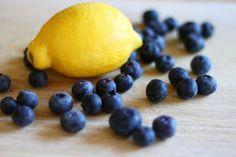 Cornmeal Blueberry-Lemon Bars