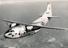 """Fairchild C-123B-1-FA """"Provider"""", this was the 1st production C-123B."""