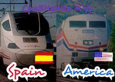 Впечатления от Ж/Д: America & Spain \Америка & Испания +Bloopers