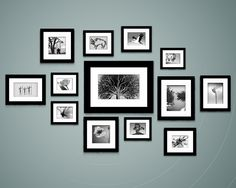 Photo Wall Template One Of The Best Ive Seen