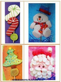Curso Bombones (Masmelos) Y Galletas Decoradas navidad