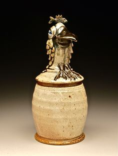 """""""Celia"""" Lidded Container."""