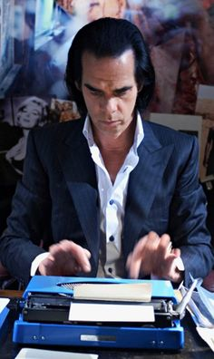 """Mostly, I write."" Nick Cave in 20,000 Days on Earth."