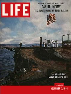 Vintage Life Magazine Day Of Infamy Pearl Harbor, Vintage Ads & Much More! Life Magazine, Pearl Harbor Day, Pearl Harbor Attack, Vintage Magazines, Vintage Ads, Vintage Signs, Day Of Infamy, Remember Pearl Harbor, Life Cover