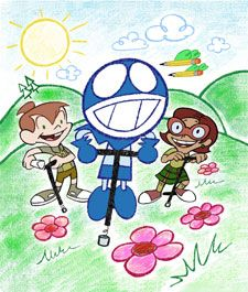 Chalkzone. i forgot all about this show! i love it! (: