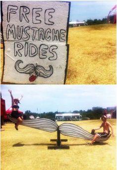 #mustache #rides