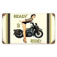 Ready 2 Ride World War II Tin Sign