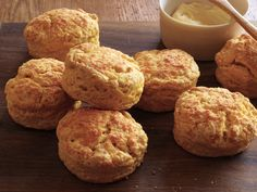 Pumpkin-Parmesan Biscuits from #FNMag #ThanksgivingFeast