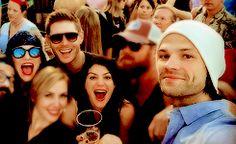 Daneel Ackles, Jensen Ackles, Jared Padalecki, Couple Photos, Couples, Couple Shots, Couple, Couple Pics
